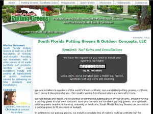 South Florida Putting Greens